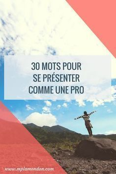 30 mots pour se présenter comme une pro - Best of pins! 6 Sigma, Burn Out, Web Design, Design Blog, Community Manager, Positive Attitude, New Job, Business Planning, Good To Know