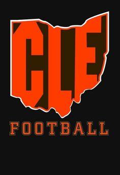 Cleveland Browns Football, Cleveland Rocks, Cleveland Ohio, Ohio State T Shirts, Ohio State Baby, Cleveland Tattoo, Sports Ohio, Go Browns, Baker Mayfield