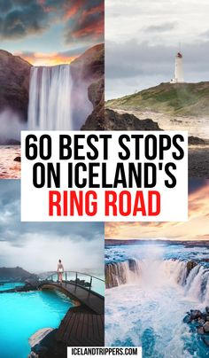 60 Best Stops Around The Ring Road In Iceland | 60 best stops on your Iceland ring road itinerary | ring road Iceland travel tips | hidden gems in Iceland | best things to do in Iceland | secret places in Iceland | travel tips for Iceland | Iceland ring road | Iceland ring road itinerary | Iceland ring road stops | ring road Iceland #iceland #icelandtravel #ringroad Road Trip Packing, Road Trip Essentials, Road Trips, Spain Travel, Italy Travel, Iceland With Kids, Iceland Travel Tips, Cool Places To Visit, Travel Photos