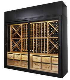 wine restaurant storage - Google Search                                                                                                                                                     More