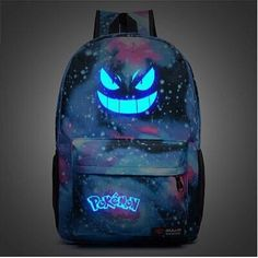 HOT Anime Pokemon Go Articuno Backpack Luminous School Bag Shoulders Bag Gift