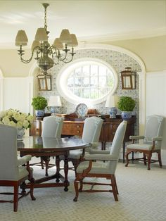 Most Design Ideas 23 Blue Dining Room Designs Ideas For Lovely Home Pictures, And Inspiration – Modern House Inspiration Design, Dining Room Inspiration, Traditional Dining Rooms, Traditional House, Traditional Kitchens, Traditional Bedroom, Sweet Home, House Ideas, Elegant Dining