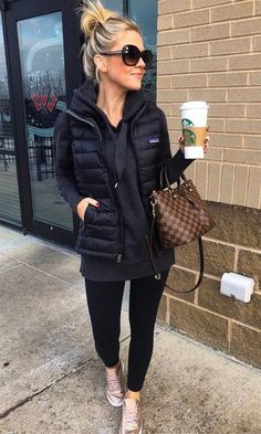 Fantastic Spring Outfit Idea for Women Style – Mode Outfits, Casual Outfits, Fashion Outfits, Womens Fashion, Fashion Ideas, Black Outfits, Fall Winter Outfits, Autumn Winter Fashion, Winter Shoes