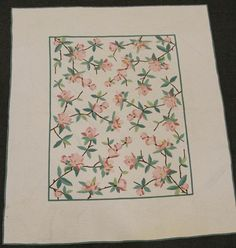 antique quilts | Floral Applique Quilts