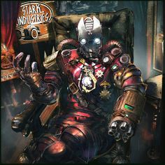ArtStation - Steampunk Iron Man, klaus wittmann