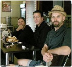 Paul Landers, Till Lindemann, and Ollie Riedel