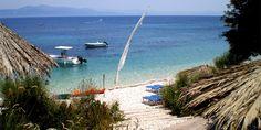 Пляж Монодентри Surfboard, Beaches, Islands, Greece, Explore, Greece Country, Sands, Surfboards, The Beach