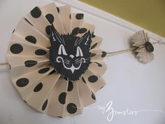 My 3 Monsters: My Vintage Inspired Halloween Garland{and a new chalkboard design, too!}