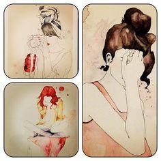 Gorgeous illustrations by emma leonard