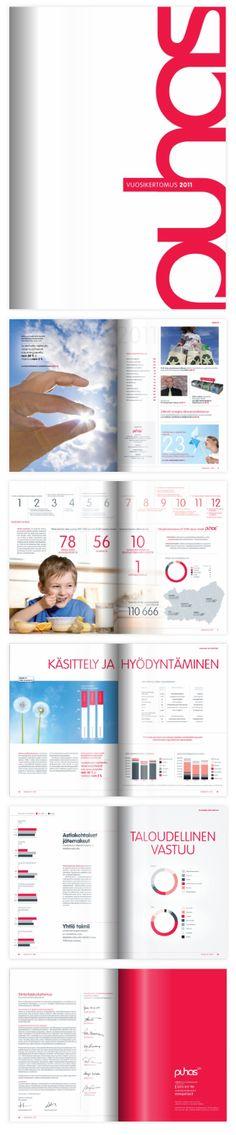 ASIAKASLEHDET JA JULKAISUT; Puhas Oy, Vuosikertomus 2011
