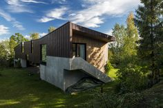 House DoB, Berger at Nesodden. Architects: Lie Øyen Arkitekter.