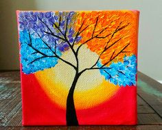 Original Tree of Life paintingAbstract Tree by ArtbyRangrez