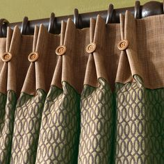 Found it at Wayfair - Sullivan Cotton Pleated Curtain Single Panel Pinch Pleat Curtains, Pleated Curtains, Home Curtains, Curtains Living, Kitchen Curtains, Contemporary Decorative Pillows, Contemporary Curtains, Curtain Patterns, Curtain Designs