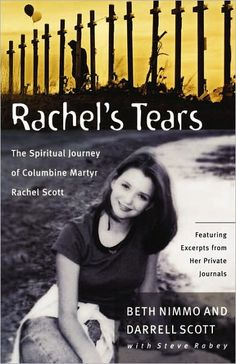 Rachel Scott was the first student shot and killed at Columbine High School April  20, 1999. This book is a moving account on the lif, death, and faith of Rachel as seen through her parents eyes, through Rachel's writings and drawings, and from excerpts from her journals.