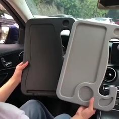 Cool Gadgets To Buy, Car Gadgets, Gadgets And Gizmos, Car Racks, Cool Inventions, Useful Life Hacks, Cool Things To Buy, Stuff To Buy, Cool Tools