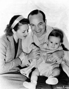 Ruby Keeler, Al Jolson and son
