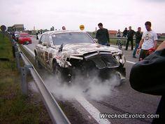 Rolls-Royce Phantom crashed in Belgrade, Germany