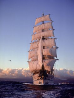 #Ships - Kiwomaru, tall ship Nippon Maru, #Japan
