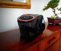 Carry your music, literally, with the Bag of Riddim Audio System by House of Marley. #gadgets #speakers