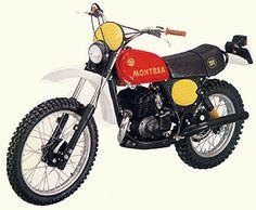 Montesa Enduro H6 250. 1977.