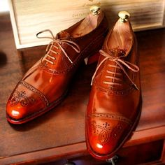 Shoes by Il Quadrifoglio, who is a Japanese bespoke shoemaker out of Kobe only using an Italian name