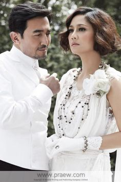 Sinjai Plengpanich (Nok) - ShareRice Wiki (AFN) Thai Drama, Celebrity Couples, Korean Actors, Equality, My Idol, How To Memorize Things, Ruffle Blouse, Stars, Celebrities