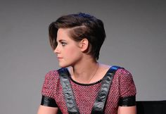 Kristen Stewart debuted her new pixie 'do over the weekend confirming that cropped locks are a must have this season. Dare you get the chop? We've put together our fave celebrity short cuts as hairspiration! x #hair