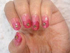 lovely & simple manicure | Nail Art Ideas