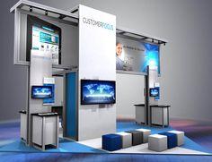 20' x 20' Solar Modular Booth by Abex