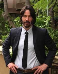 John Wick is my new hero Keanu Reeves John Wick, Keanu Charles Reeves, John Wick Movie, Keanu Reaves, Handsome Celebrities, Daddy Issues, Smart Styles, Great Movies, Future Husband