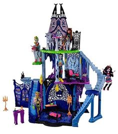 Monster High Freaky Fusion Catacombs Castle Playset Kids Toys Doll House NEW  | eBay