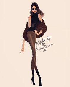 Thank You @vladislavkorinnoy  #fashion #fashionillustration #illustration #style #moda #chic #blogger