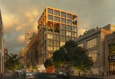 ODA Designs Mixed-Use District to Revitalize the Astoria Neighborhood, in New York City | ArchDaily New York City Images, New York Art, Plan Maestro, Queens New York, Tower Building, Mixed Use, Time Photo, Facade Architecture, New York Street