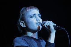 Grimes @ Digital photo by Gary Marlowe
