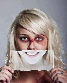 Just because s/he smiles, doesn't mean it's real. Sadly, this tends to be the face of abuse #abuse #thefaceofabuse