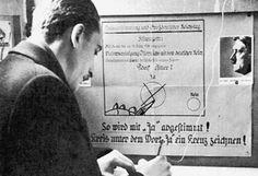 Abstimmung über den Anschluss Österreichs ans Deutsche Reich. Mehr dazu hier: http://www.nachrichten.at/nachrichten/150jahre/tagespost/Die-Tragoedie-unserer-Geschichte;art171761,1688314 (Bild: OÖN)