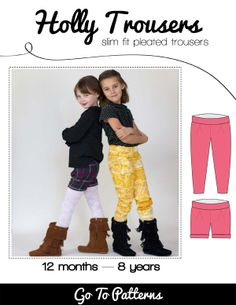 Holly Trousers sewing pattern