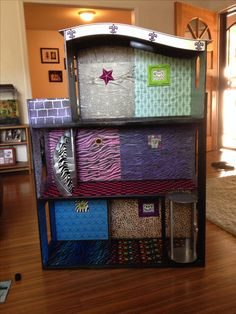 Mine is done!  Monster High doll house makeover.