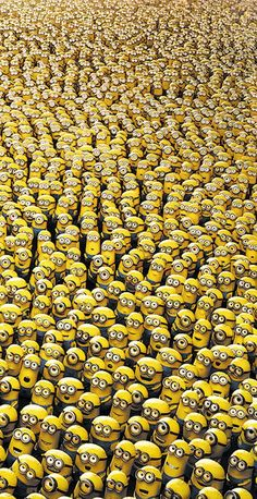 Whenever you think you are alone, you aren't. The minions love u! Ya'll r awesome, and the minions think u r Amor Minions, Cute Minions, Minions Despicable Me, My Minion, Minions Quotes, Minion Banana, Minions Minions, Minions Tumblr, Happy Minions