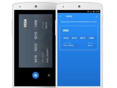 Orca app, Log in, Card Reg & Confirmation Screens by Marco Taborda
