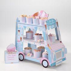 Cupcake Stand - Ice Cream Cart