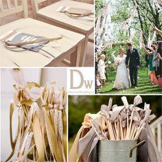 Идеи для весенней свадебной церемонии | DiscoverWedding.ru