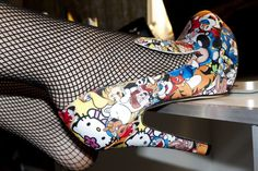 LittleMonsters lady Gaga shoes :))