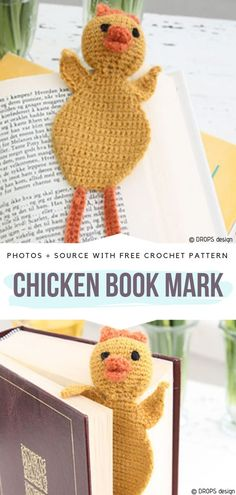 We all have those people in our life, who are always reading. They are so immersed in the books, it's often hard to make them answer the question! Easy Crochet Bookmarks, Crochet Bookmark Pattern, Crochet Patterns, Diy Crafts To Do, Upcycled Crafts, Drops Design, Crochet Humor, Funny Crochet, Halloween Mason Jars
