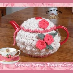 Crochet Me Lovely - Spring Floral Teapot Cozy