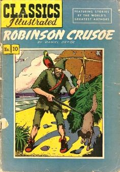 1500 Robinsonades on sale  No 10: Robinson Crusoe - Daniel Defoe