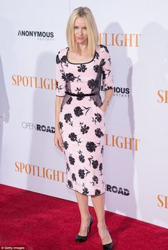 Naomi Watts shows off unlined face at Spotlight premiere with Liev Schreiber   Daily Mail Online
