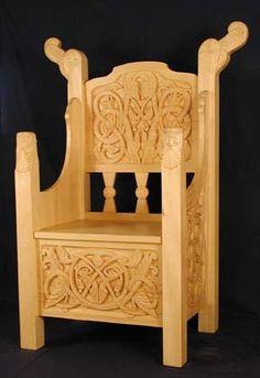 Norsk древесины Работы - Церковь рисунки