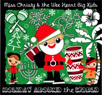 """Winter Holidays Around the World gives the holiday season an international flavor with songs from different cultures and countries. From the Hawaiian version of """"Twelve Days of Christmas"""" to the African song """"Jambo Rafiki"""" children learn and gain an appreciation for holiday traditions celebrated everywhere. Other songs a Carribbean rendition of """"Mary's Boy Child"""", a delightful song and story from Australia called """"Six White Boomers,"""" """"Channukah Medley"""" and a Flamenco version of """"Feliz Navidad."""""""