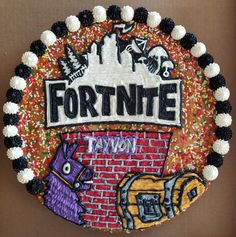 Fortnite soft sugar cookie cake. Mario Birthday Cake, Happy Birthday Cookie, Birthday Cookies, Boy Birthday Parties, Birthday Fun, Birthday Ideas, Sugar Cookie Cakes, Soft Sugar Cookies, Cake Cookies